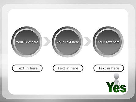 Yes PowerPoint Template Slide 5