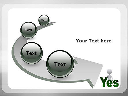 Yes PowerPoint Template Slide 6