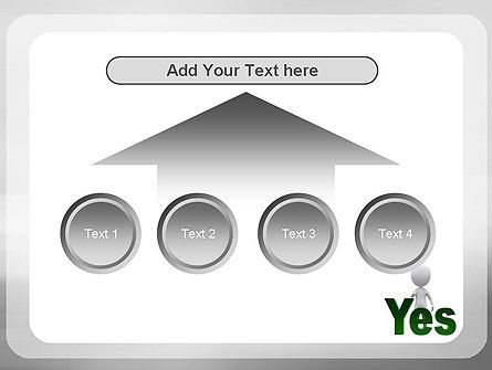 Yes PowerPoint Template Slide 8