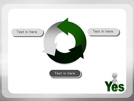 Yes PowerPoint Template Slide 9