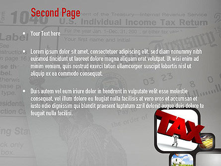 Taxes PowerPoint Template Slide 2
