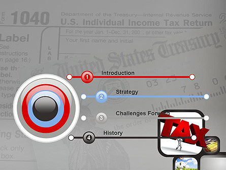 Taxes PowerPoint Template Slide 3