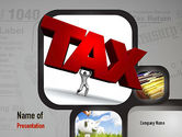 Financial/Accounting: Taxes PowerPoint Template #10904