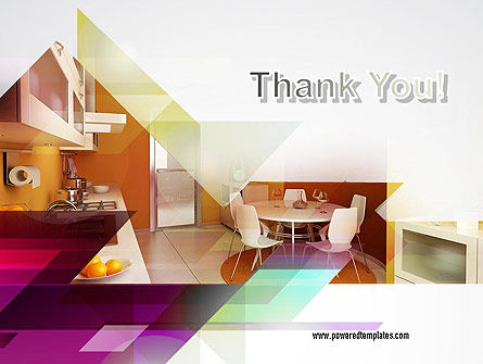 Kitchen Design PowerPoint Template Slide 20