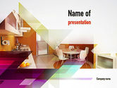 Careers/Industry: Kitchen Design PowerPoint Template #10905