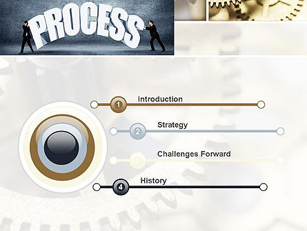 Process Management PowerPoint Template Slide 3