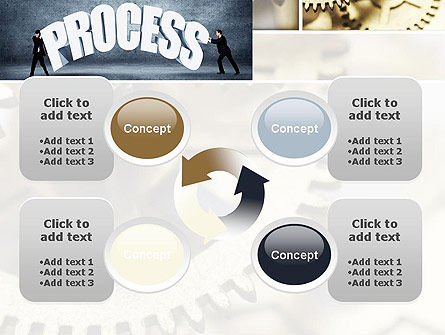 Process Management PowerPoint Template Slide 9