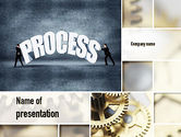 Careers/Industry: Procesmanagement PowerPoint Template #10907
