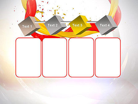 Paint Frame Splash PowerPoint Template Slide 18