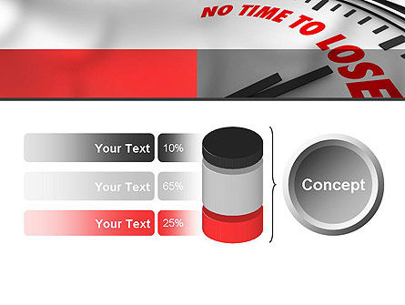 Clock Counting Down PowerPoint Template Slide 11