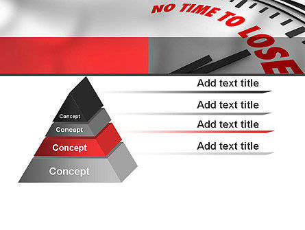 Clock Counting Down PowerPoint Template Slide 12