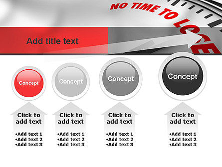 Clock Counting Down PowerPoint Template Slide 13