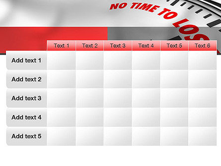 Clock Counting Down PowerPoint Template Slide 15