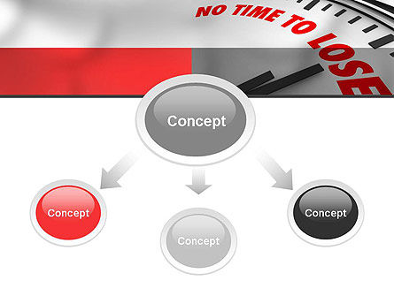 Clock Counting Down PowerPoint Template, Slide 4, 10910, Business Concepts — PoweredTemplate.com