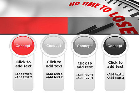 Clock Counting Down PowerPoint Template Slide 5