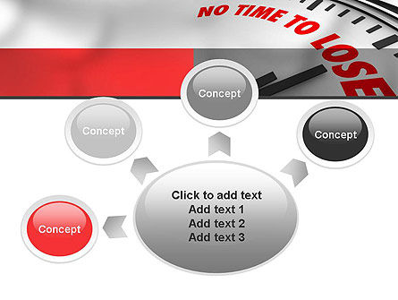 Clock Counting Down PowerPoint Template Slide 7