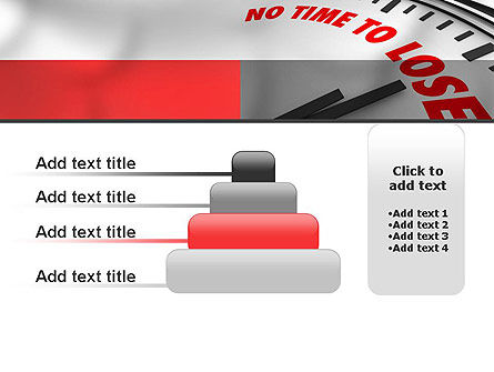 Clock Counting Down PowerPoint Template Slide 8