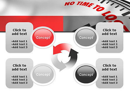 Clock Counting Down PowerPoint Template Slide 9