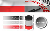 Clock Counting Down PowerPoint Template#11