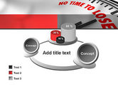 Clock Counting Down PowerPoint Template#16