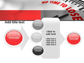 Clock Counting Down PowerPoint Template#17