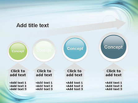 Spiral Wave PowerPoint Template Slide 13
