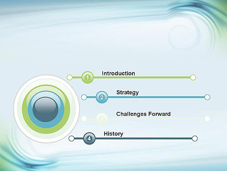 Spiral Wave PowerPoint Template Slide 3