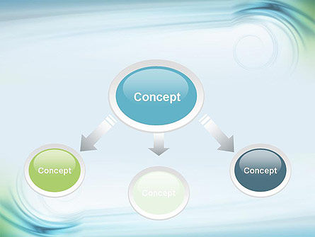 Spiral Wave PowerPoint Template Slide 4