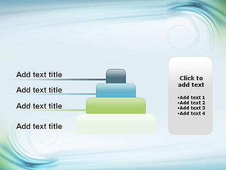 Spiral Wave PowerPoint Template Slide 8