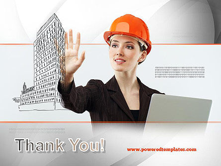 Innovative Technology in Architecture PowerPoint Template Slide 20