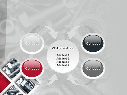 Bolts PowerPoint Template Slide 6