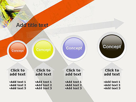 Mixing Paint PowerPoint Template Slide 13