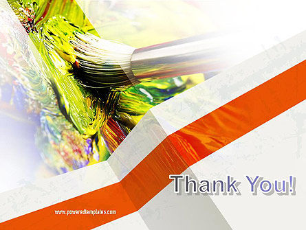 Mixing Paint PowerPoint Template Slide 20