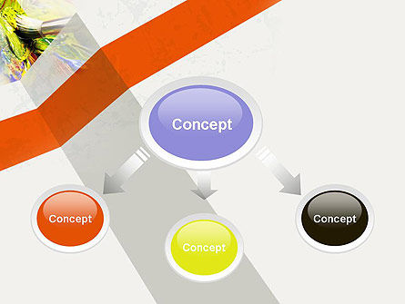 Mixing Paint PowerPoint Template Slide 4
