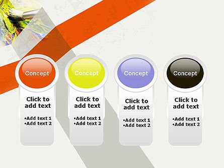Mixing Paint PowerPoint Template Slide 5