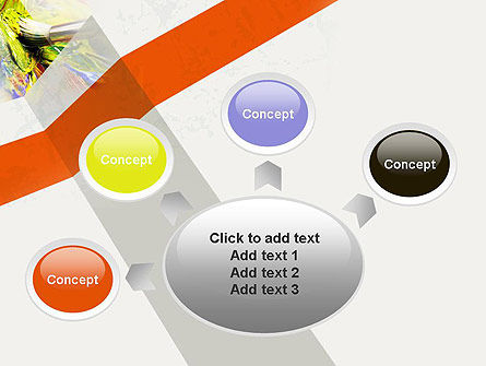 Mixing Paint PowerPoint Template Slide 7
