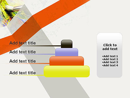 Mixing Paint PowerPoint Template Slide 8