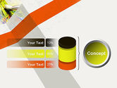 Mixing Paint PowerPoint Template#11