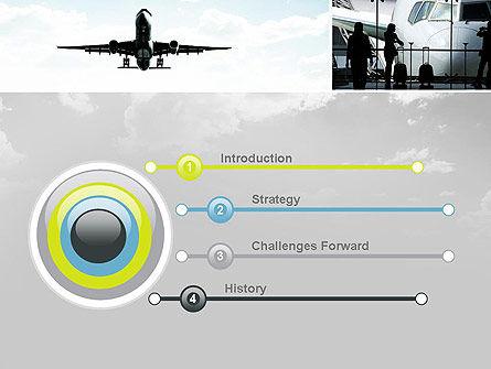 Runway PowerPoint Template, Slide 3, 10915, Cars and Transportation — PoweredTemplate.com