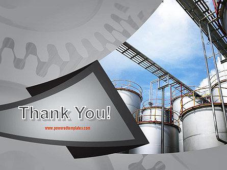 Industrial Tanks PowerPoint Template Slide 20