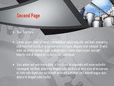 Industrial Tanks PowerPoint Template#2