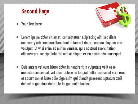 Sick Leave PowerPoint Template, Slide 2, 10918, Financial/Accounting — PoweredTemplate.com