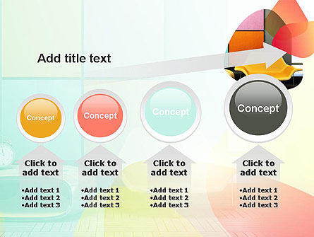Yellow Sofa PowerPoint Template Slide 13