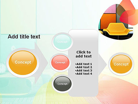 Yellow Sofa PowerPoint Template Slide 17