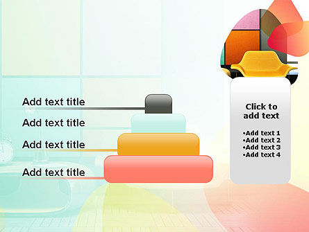 Yellow Sofa PowerPoint Template Slide 8