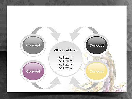 Financial Tsunami PowerPoint Template Slide 6