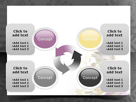 Financial Tsunami PowerPoint Template Slide 9