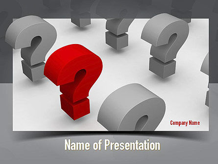 Did You Know PowerPoint Template, 10921, Education & Training — PoweredTemplate.com