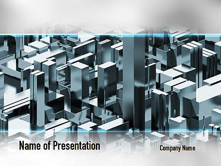 Skyscraper Abstract Concept PowerPoint Template