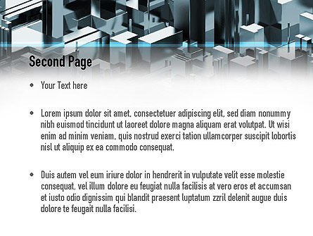 Skyscraper Abstract Concept PowerPoint Template Slide 2